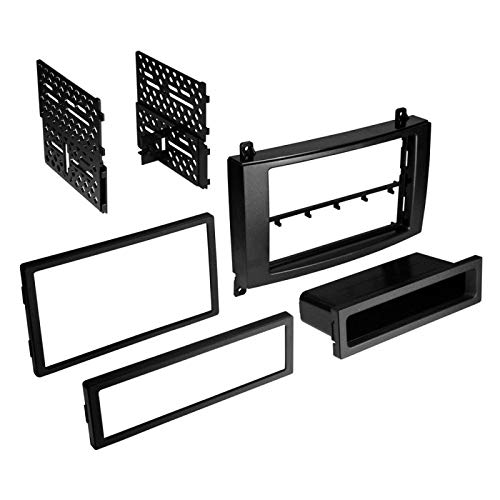 Carxtc Stereo Install Dash Kit Single and Double Din Fits Dodge Sprinter 2007-2010
