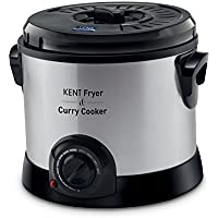 Kent Fryer & Curry Cooker Multipurpose Appliance for Slow Cooking, Shallow & Deep Frying.