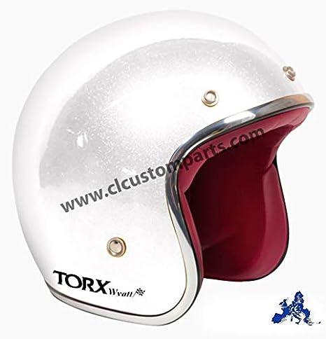 TORX Casco Moto Wyatt Matt black taglia M