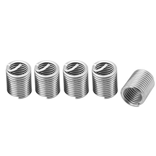 60pcs Stainless Steel Threaded Insert Thread Repair Tools M3 M4 M5 M6 M8 M10 M12 Hardware