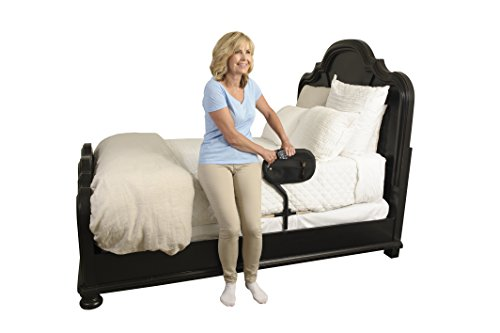 Stander BedCane - Adult Home Bed Safety Rail & Handle + Height Adjustable Elderly Standing Assist Aid & Pouch by Stander (Image #2)