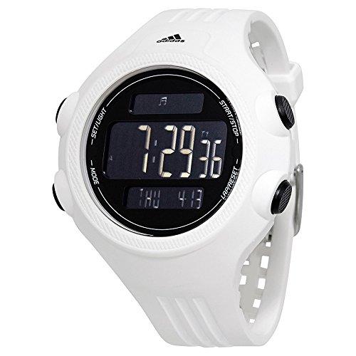 adidas adp3261 Questra Blanco Silicona Negro dial Digital Reloj: Amazon.es: Relojes