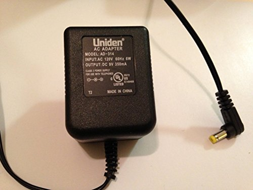 Uniden Telephone Power Supply AC Adapter Charger 9V 350mA Model: AD-314