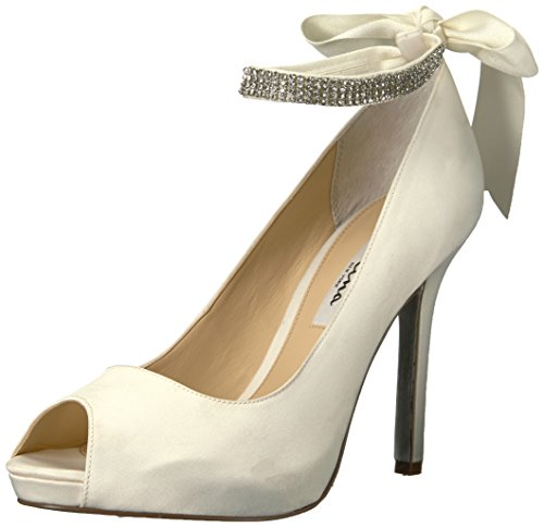 Nina Women's Karen-LS Dress Pump,Ivory,8.5 M US