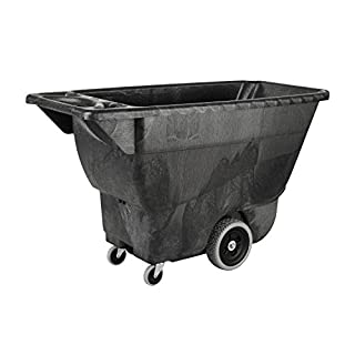 Rubbermaid Commercial Polyethylene Box Cart, 450 lbs Load Capacity, Black, (FG9T1300BLA) (B004W7T2UG)   Amazon price tracker / tracking, Amazon price history charts, Amazon price watches, Amazon price drop alerts