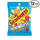 Starburst Gummibursts Liquid Filled Gummy Candy 6 OZ (Pack of 24)