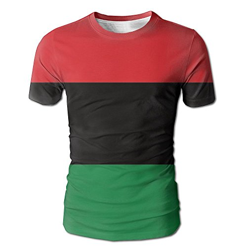 Black Lives Matter Flag African American Flag T-shirts Tee O-Neck Men's Cute Short Sleeve Cool Dry (Football Bunting)