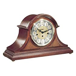 Hermle Black Forest Clocks Tambour Clock in Cherry