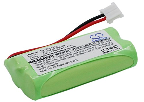 Replacement Battery 700mAh/1.68Wh Rechargeable Battery for V Tech EMBARQ eGO