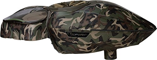 Virtue Spire 200 Electronic Paintball Loader / Hopper with Crown 2.5 - SE Camo