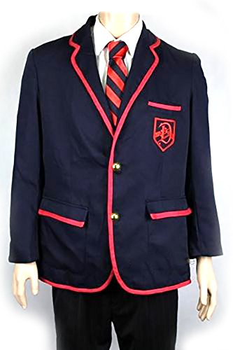 Glee Darlton Warblers Academy Suit Uniform Costume Set (Glee Costume)