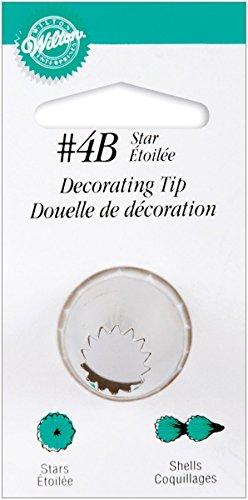 Wilton Decorating Tip, No.4B Star