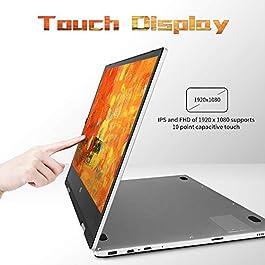 2 in 1 Laptop Jumper x1 Windows 10 Laptop FHD Touchscreen Display Laptop Computer 11.6 inch 6GB RAM 128GB ROM