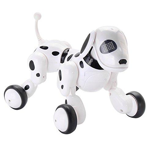 KINGDUORc Smart Robot Cane Cantare Ballare Talking Dialogo Rc Pet Giocattolo Bambini Regalo