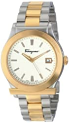Salvatore Ferragamo Men's FF3070014 FERRAGAMO 1898 Two-Tone Stainless Steel Watch