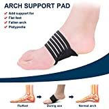 2 Pairs Compression Fasciitis Cushioned Arch