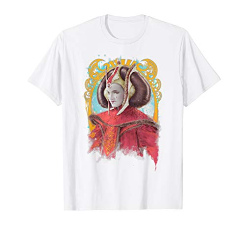 Star Wars Padme Amidala Regal Portrait Graphic T-Shirt
