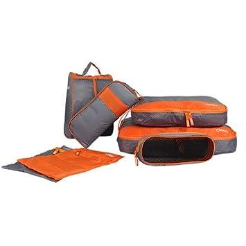 b2d3850da23a Amazon.com : Saasiiyo 7PCS Waterproof Travel Storage Bag Clothes ...