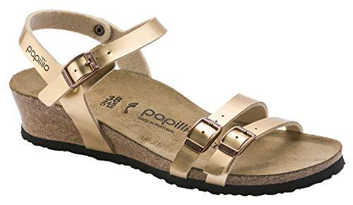 Birkenstock Womens Lana Wedge Sandals, Metallic Copper, Size 36 N EU (5-5.5 N US Women)