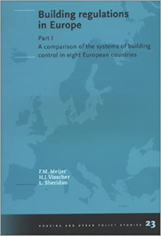 amazon com building regulations in europe part 1 a comparison of