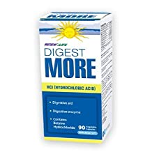 Renew Life DigestMORE HCl 90 capsules