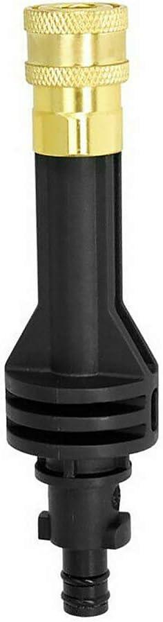 verl/ängert die L/änge von Hochdruckwaschwerkzeugen f/ür Auto Reinigungswerkzeuge Verl/ängerungsstangenadapter f/ür Worx Hydroshot Wu629e//630//644 Wu629 schwarz