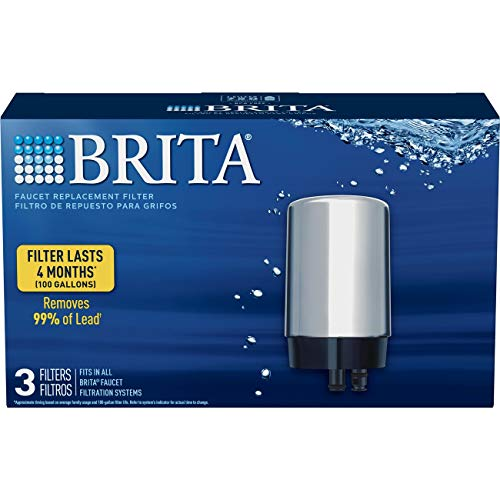 Brita Tap Water Filtration System Replacement Filters for