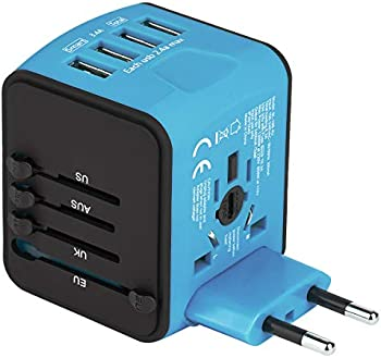 Castries USB Universal Travel Adapter