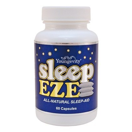 Sleep Eze 60 Capsules Youngevity Natural Sleep Aid With Melatonin & Valerian (Ships Worldwide)