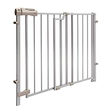 Evenflo Secure Step Top Of Stair Gate   Taupe (Discontinued By Manufacturer)