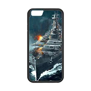 World Of Warships iPhone 6 6s Plus 5.5 Inch Cell Phone Case Black gift zhm004-9257347