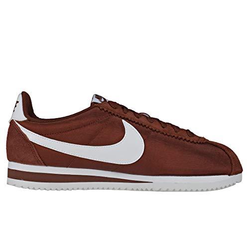 203 Multicolore Sepia Classic red Wmns White Running Nylon Nike Cortez Donna Scarpe fOqPwF6x