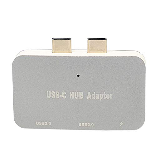 MagiDeal USB C Hub Multiport Adapter,Portable Combo Hub with USB C Charging Port USB 3.0/ USB 2.0 Ports for MacBook Pro Gray by Unknown (Image #9)