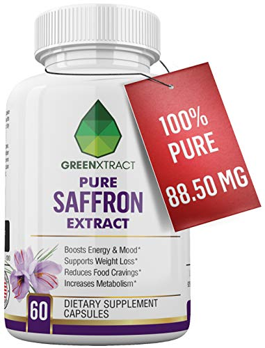 Saffron Extract 8850, Weight Loss Support, Mood Enhancement, Antioxidant Properties, Improving Libido, Eye & Brain Health, Increased Energy, Decreased Inflammation, for Men & Women