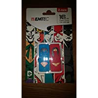 Emtec 16GB Flash Drive M700 Super Hero 2-Pack - ECMMD16GM700SHP2
