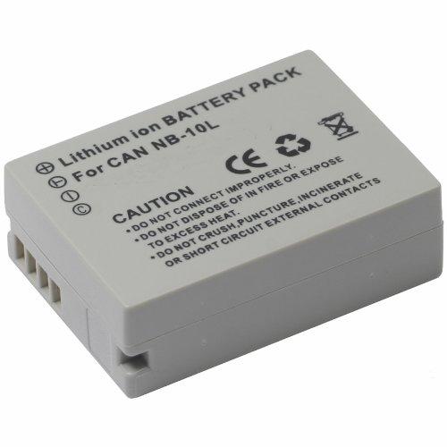 Digital Nc BATVIVNB-10L/SX40HS (AKA, Canon Nb-10L, 5668B001) Li-Ion 3.5 Hour Rechargeable Intelligent Battery for Select Canon Powershot Cameras by Digital Nc