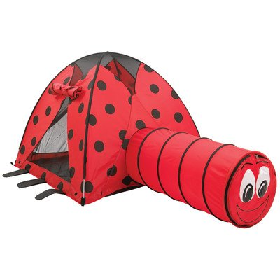 Lady Bug Tent and Tunnel Combo