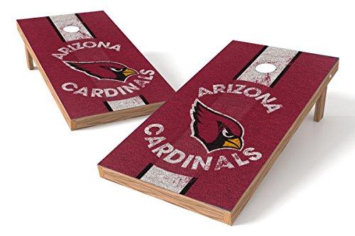 Wild Sports 2'x4' NFL Arizona Cardinals Cornhole Set - Heritage Design ()