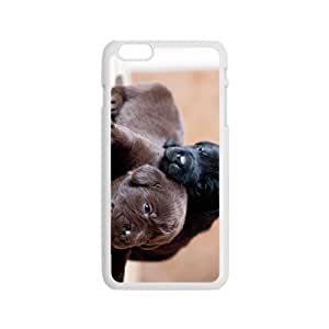 Dog Babies Hight Quality Plastic Case for Iphone 6 by lolosakes