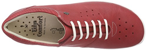 Leather Comfort Womens Red Shoes Finn 2851 Barletta I800q
