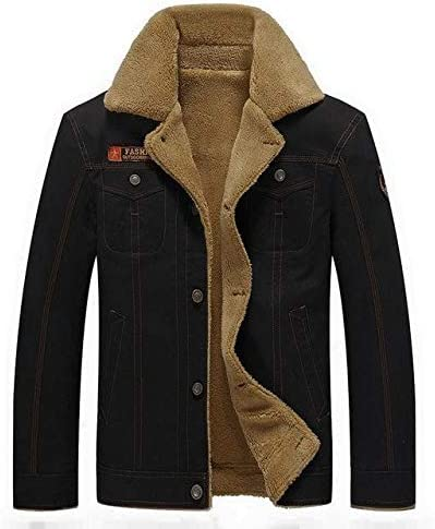 Winter Military Bomber Jackets Coats for Men Black 4XL
