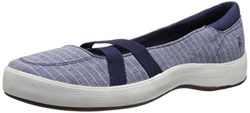 Grasshoppers Donna Ginepro Mary Jane Fashion Sneaker Blu / Naturale