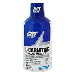 GAT Sport Essentials Liquid L Carnitine, 16oz
