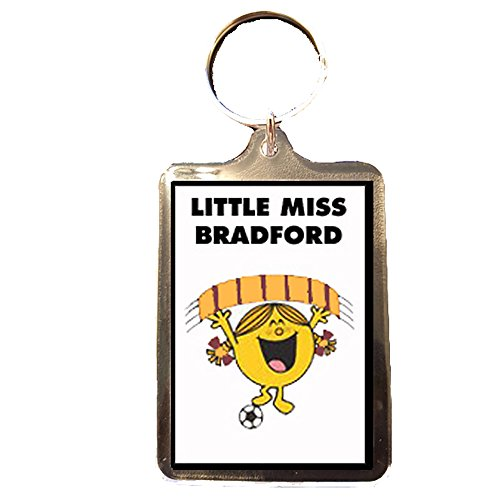 Bradford City F.C - Little Miss Football Keyring