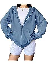 SMIMGO Y2k Zip Up Hoodie Vrouwen Vlinder Grijs Zwart Zip Up Hoodie Trui Kleding Sweatshirt Mode Top Herfst