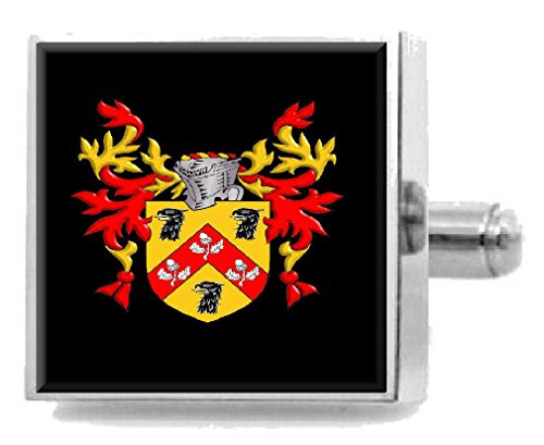 Select Gifts Anderson Scotland Heraldry Crest Sterling Silver Cufflinks Engraved Box