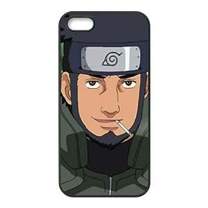 iPhone 5 5s Cell Phone Case Black Sarutobi Asuma 08 Whbf