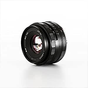 JARAY High Resolution 35mm F/1.6 Manual focus Lens M4/3 micro four thirds for Panasonic Olympus Mirrorless