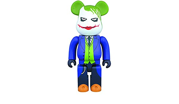 5be1f44550df Amazon.com  Medicom The Dark Knight  The Joker 400% Bearbrick Action  Figure  Toys   Games