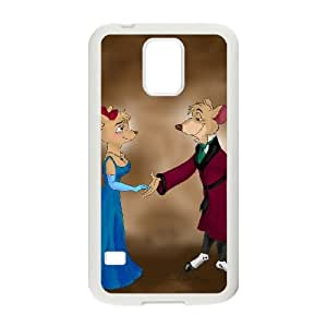 Samsung Galaxy S5 Cell Phone Case White Basil The Great Mouse Detective 008 KQ3426670